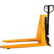 "Wesco Non-Telescoping Manual High Lift Pallet Truck 272462 2200 Lb. 21"" Forks"