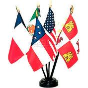 "Six Flags of Texas - 6 Flag Set - 4"" x 6"""