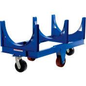 Vestil Steel Bar Cradle Truck DCC-2860-4 60-5/16 x 31-1/2 4000 Lb. Capacity