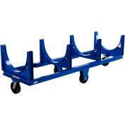 Vestil Steel Bar Cradle Truck DCC-2896-4 96-5/16 x 31-1/2 4000 Lb. Capacity