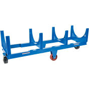 Steel Bar Cradle Truck DCC-2896-10 30 x 98-1/4 10,000 Lb. Capacity
