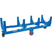 Vestil Steel Bar Cradle Truck DCC-2896-10 30 x 98-1/4 10,000 Lb. Capacity