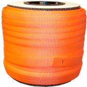 """Woven Polyester Strapping 3/4"""" x .050"""" x 250' Orange - Pkg Qty 10"""