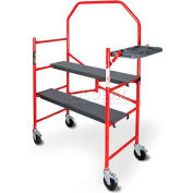 Metaltech BuildMan Grade 4' Folding Scaffold Work Platform - I-BM4S