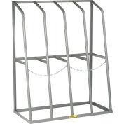 "Vertical Bar Rack 48""W x 24""D x 60""H - 6000 LB Capacity"