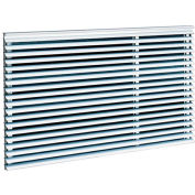 Frigidaire Universal Through The Wall Architectural Grille Anodized Aluminum 5304515640