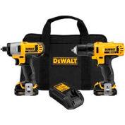 DeWALT® DCK211S2 12V Max Li-Ion Drill/Impact Combo Kit