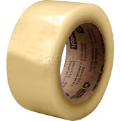 3M Carton Sealing Tape for Recycled Boxes 3072 48mm x 110m Clear - Pkg Qty 36