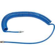 "Cejn® PUR Spiral Hose Kit 19-958-6060MS1, 1/4"" MNPT, 20'L, 1/4"" Nipple"