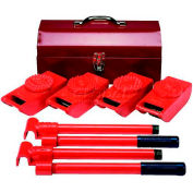 Wesco HeviMover™ Machine Roller Kit 480019 2000 Lb. Capacity