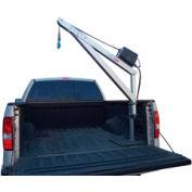 Spitzlift LBS15-4 Pickup Truck Crane   20' Strap, Surface Mount & Pivot Base