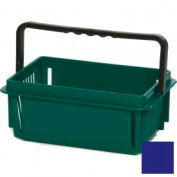 "Plastic Shopping Basket with Plastic Handle, Mini, 12""L X 8""W X 5""H, Dk Blue, Good L Corp. ® - Pkg Qty 12"