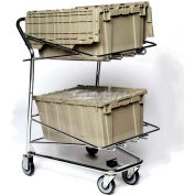 """Tote Cart For Two 30""""Lx26""""43""""H Containers, Good L Corp. ®"""