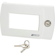 PECO Locking Thermostat Cover, Key Security For Performance Pro 4000 Series Thermostats - Pkg Qty 5