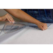 """Chase Doors Standard Clear PVC Roll E5IPR01076, 48"""" W, .080"""" Thick, 60' L"""