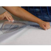 "Chase Doors Loc-Rib™ Low-Temperature USDA PVC Roll E5GPB01192, 8""W, .080"" Thick, 150'L"