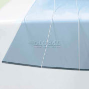 """Replacement Chase Doors Standard Clear PVC Strip E12ST144, 12"""" W, .120"""" Thick, 12' L"""