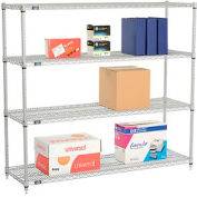 "Nexelate Wire Shelving 60""W x 18""D x 54""H"