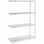 "Nexelate Wire Shelving Add-On 60""W x 24""D x 54""H"