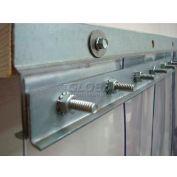 """Chase Doors 48"""" 14 ga. Steel Strip Door Mounting Hardware E5GHW2829C48HD"""