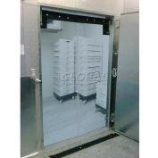 "Chase Doors EconoClear™ Flexible Standard Clear Swinging Door 60""W x 84""H EC6084STSS"