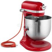 KitchenAid® Commercial 8 Qt. Bowl Mixer Empire Red - KSM8990ER