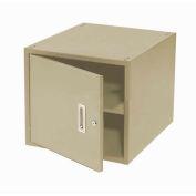 """16""""H Workbench Storage Cabinet, Tan"""