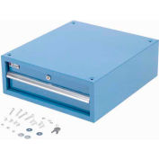 "6"" Stacking Workbench Drawer, Blue"