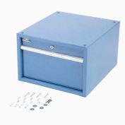 "12""H Stacking Workbench Drawer, Blue"
