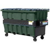 Otto SteeLite 2 Yd Front Load Plastic Dumpster Otto2ydFLSTL - Dark Gray