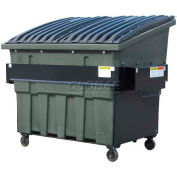 Otto SteeLite 4 Yd Front Load Plastic Dumpster Otto4ydFLSTL - Brown