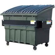 Otto SteeLite 4 Yd Front Load Plastic Dumpster Otto4ydFLSTL - Green