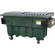 Otto Triumph 1 Yd Front Load Plastic Dumpster Triumph1ydFL - Dark Gray