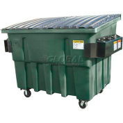 Otto Triumph 3 Yd Front Load Plastic Dumpster Triumph3ydFL - Forest Green