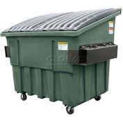 Otto Triumph 4 Yd Front Load Plastic Dumpster Triumph4ydFL - Green