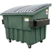 Otto Triumph 4 Yd Front Load Plastic Dumpster Triumph4ydFL - Forest Green