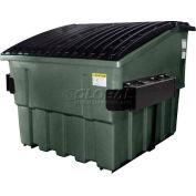 Otto Triumph 6 Yd Front Load Plastic Dumpster Triumph6ydFL - Black