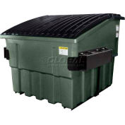 Otto Triumph 6 Yd Front Load Plastic Dumpster Triumph6ydFL - Dark Gray