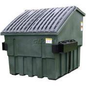 Otto Triumph 8 Yd Front Load Plastic Dumpster Triumph8ydFL - Dark Gray