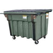 Otto SteeLite 2 Yd Rear Load Plastic Dumpster Otto2ydRLSTL - Forest Green