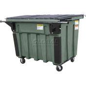 Otto Triumph 2 Yd Rear Load Plastic Dumpster Triumph2ydRL - Dark Gray