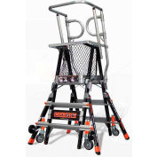 Little Giant® Aerial Safety Cage Ladder 3'-5' - 18503