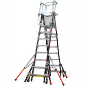 Little Giant® Aerial Safety Cage 8'-14' W/ Click Casters - 18515-240