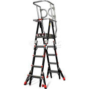 Little Giant® Compact Safety Cage 5'-8' W/ Outriggers - 18508-146