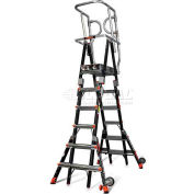 Little Giant® Compact Safety Cage 6'-10' W/ Outriggers - 18506-146