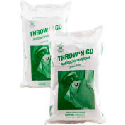 Throw 'N Go Antibacterial Wipes - 80 Wipes/Pack TNG-WIPES-80/24