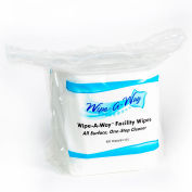Wipe-A-Way Facility Wipes - 800 Towels/Roll, 2 Rolls/Case