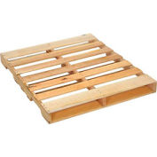 "New Hard Wood Pallet 48"" x 40"" x 4-1/2"" - Pkg Qty 5"