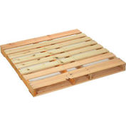 "New Hard Wood Pallet 48"" x 48"" x 4-1/2"" - Pkg Qty 5"