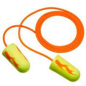 3M™ E-A-Rsoft™ Yellow Neon Blasts™ Foam Earplugs, Corded, 311-1252, 200 Pairs